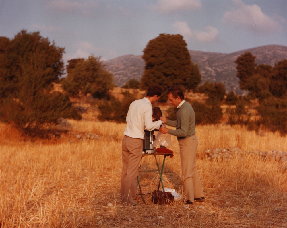 Beavers and Markopoulos at the Temenos site, 1980s