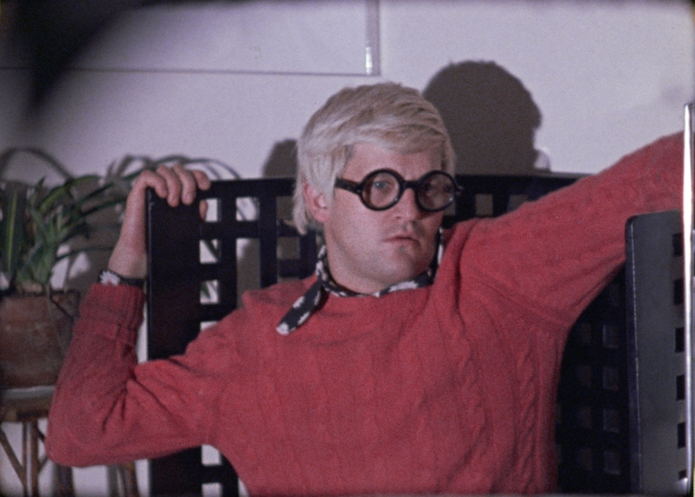 David Hockney in Genius (1970)