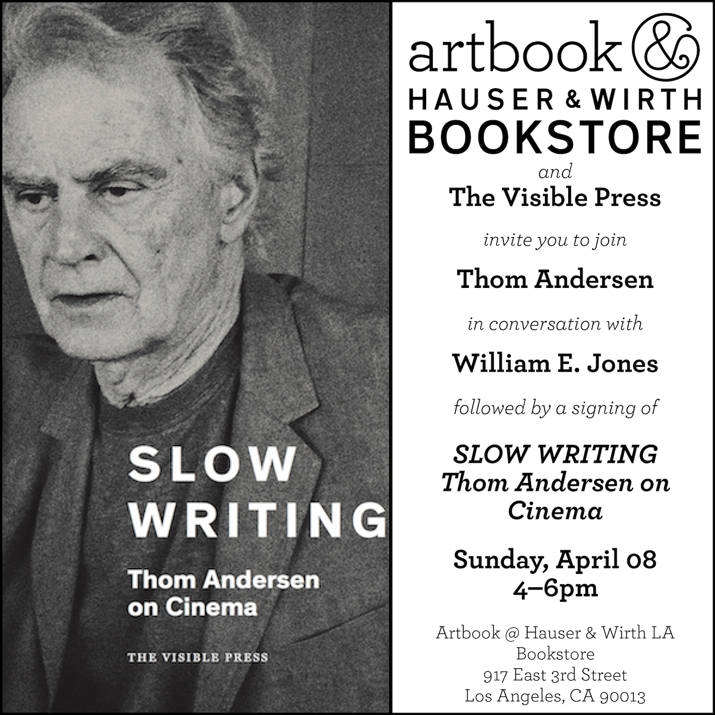 Thom Andersen at Artbook LA