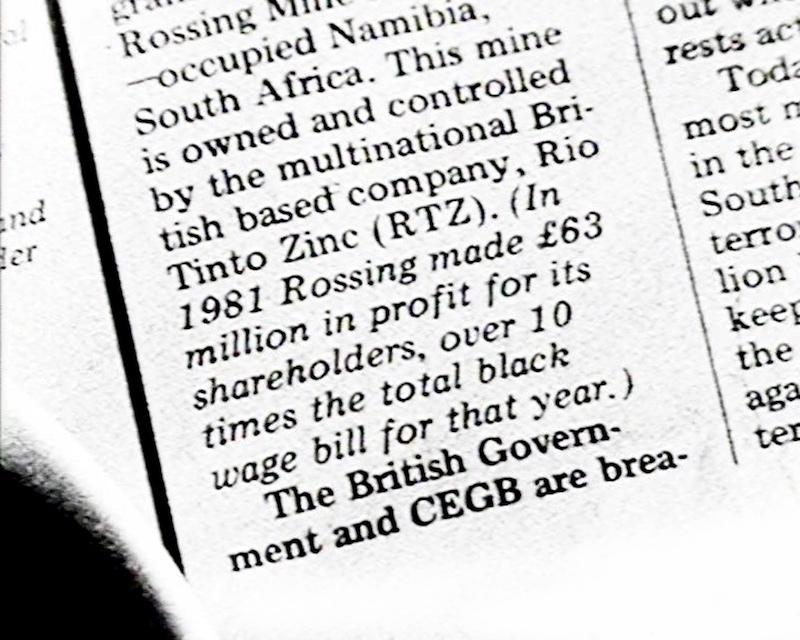 Hang on a Minute: No. 8 Bus (Lis Rhodes & Jo Davis, 1983-85)